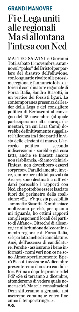 Lega Nord e Forza Italia si riavvicinano