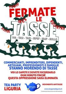Campagna di sensibilizzazione contro le tasse